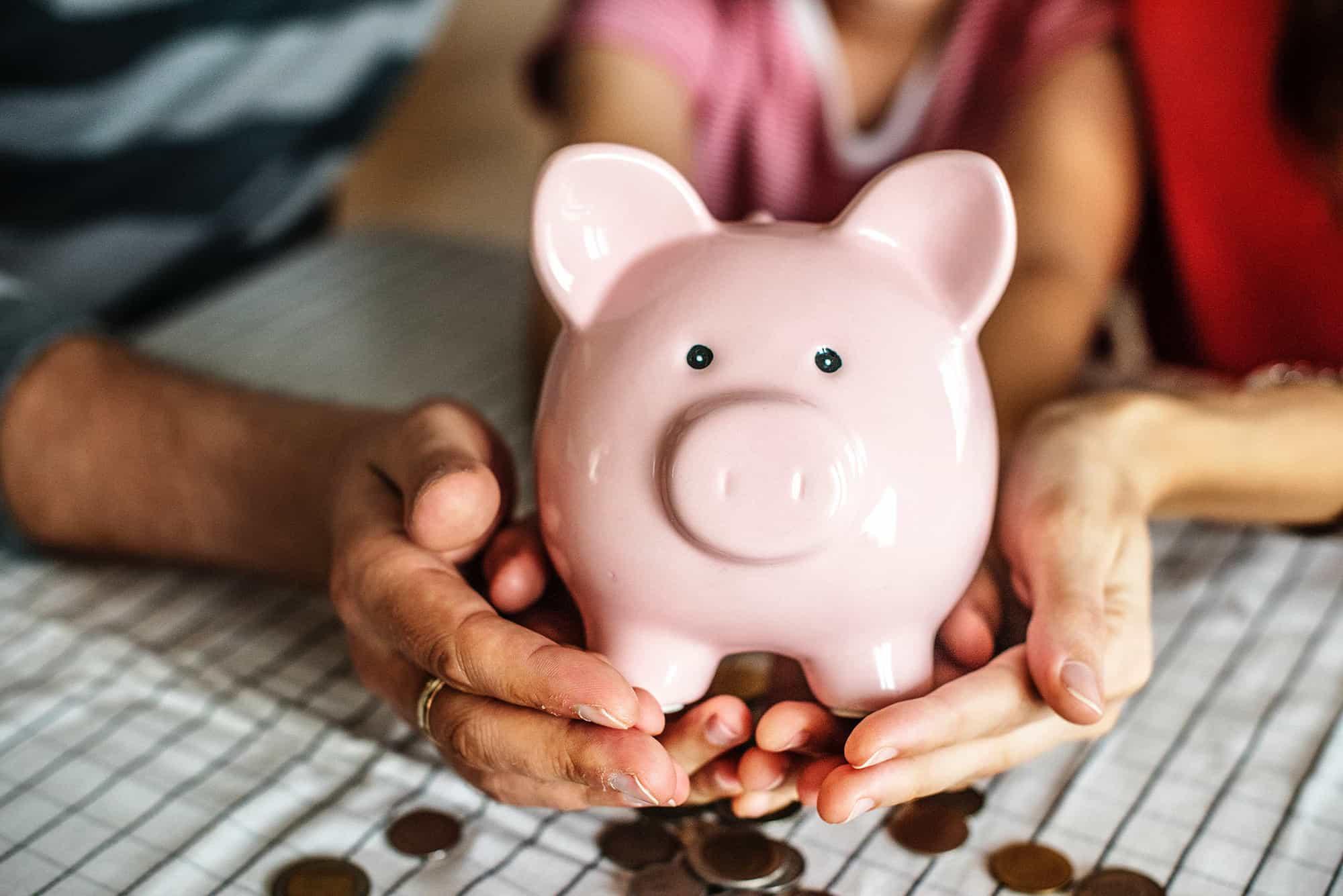 Piggy Bank saving money personal insurance