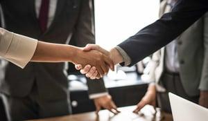 business handshake insurance